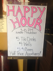 Hong Kong Inn Happy Hour Deal