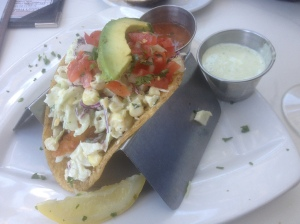 Ventura Happy Hour Fish Tacos
